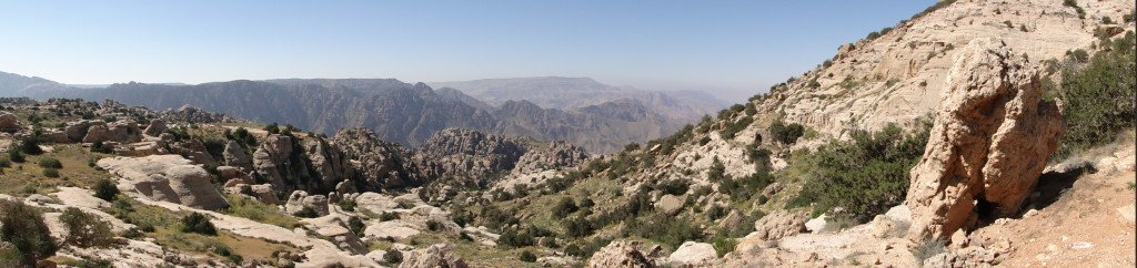 Dana Biosphere Reserve in south-central Jordan. Photo credit: Bernard Gagnon under a CC BY-SA 3.0 license.